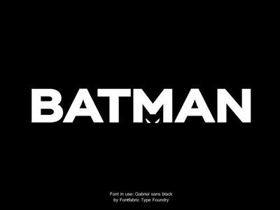 Batman is watching you! batman hero logo font typography cool nice black poster flyer