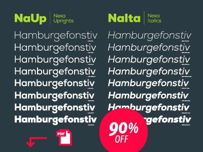 Nexa font available  font typography promo fonts nexa poster logo graphic image cool vector