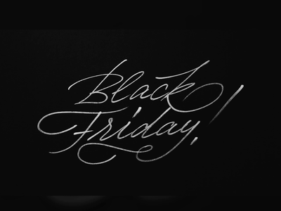 Black Friday by Fontfabric promo blackfriday calligraphy fontfabric letter lettering typeface type typography font