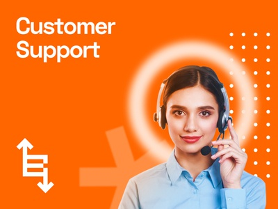 Customer Support Poster for Benchmark Exports & Imports