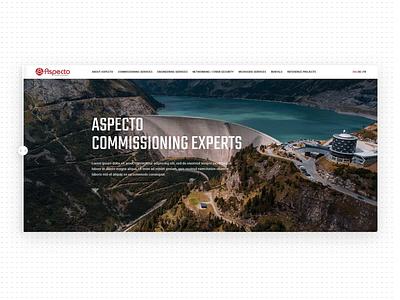 Before / After shot b2b website web design agency clean ux ui design