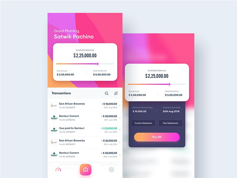 bKash - Check Balance | Mobile Finance App | Search by Muzli