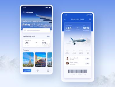 Flight Booking App minimal destination trips flight search ui ux flight booking app flight app flight ticket boarding pass mobileapp mobile flight flight booking