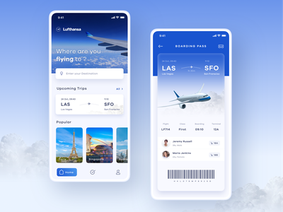 Flight Booking App minimal destination trips flight search ui ux flight booking app flight app flight ticket boarding pass mobileapp mobile flight flight booking