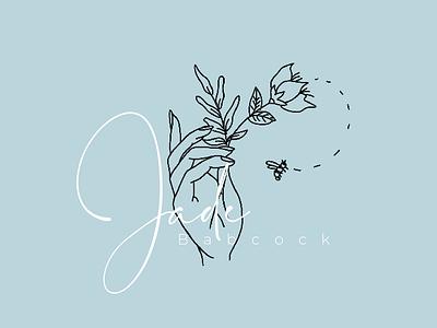 Jade Babcock typography identity logo illustration branding design