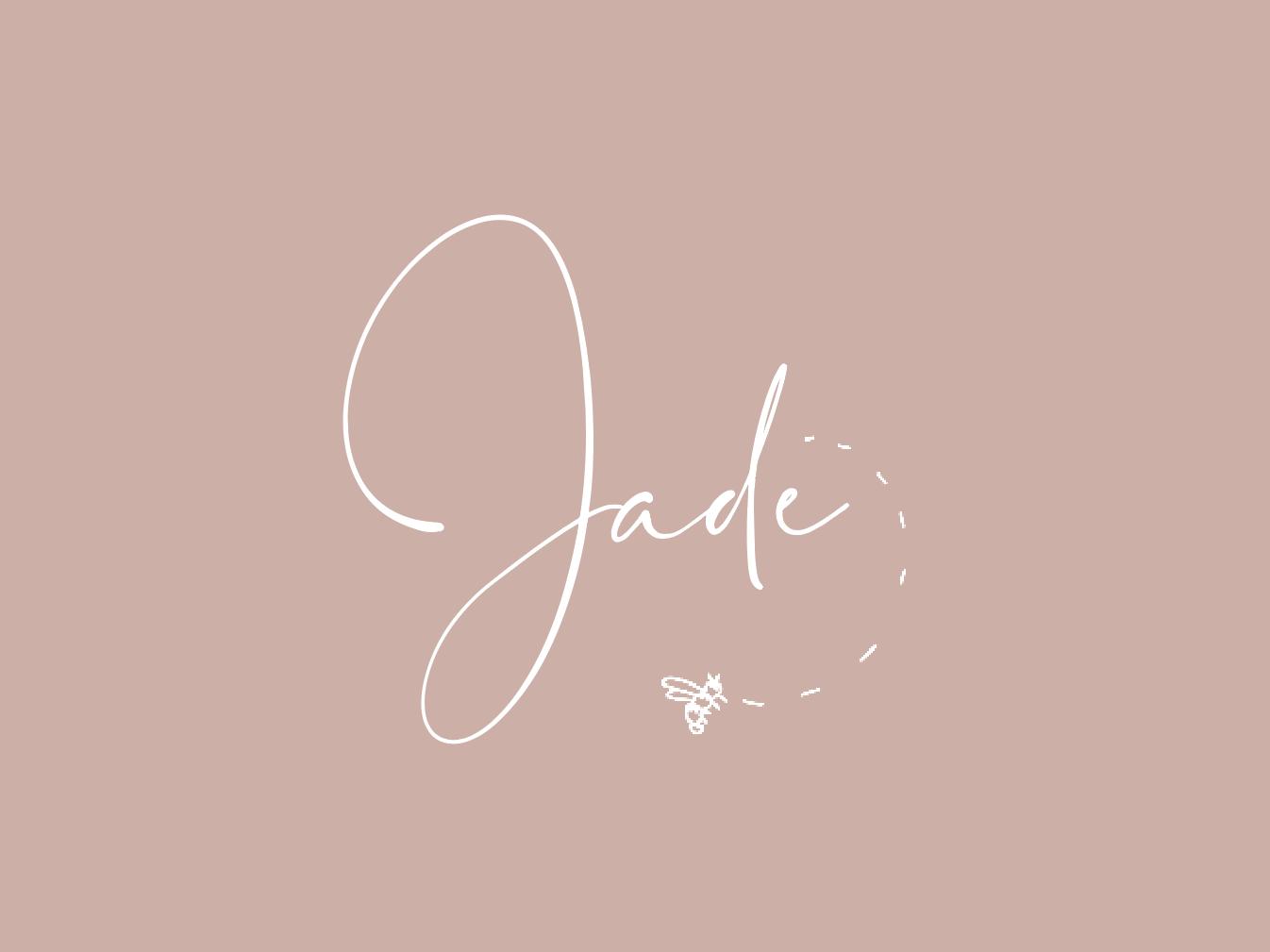 Jade Babcock typography logo identity illustration branding design