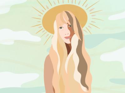 The girl Made of Sun and Cinnamon
