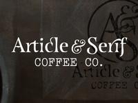 Article & Serif