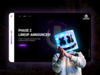 Music Festival Web UI