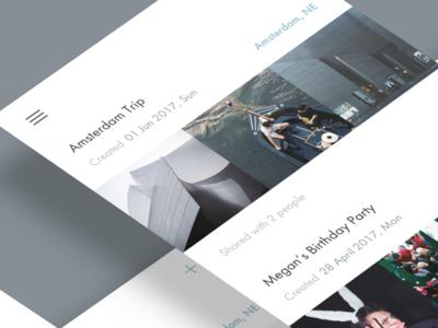 iOS Albums (WIP) interface design ui app iphone ios albums