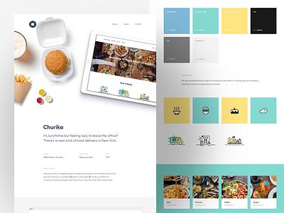Misto Churika Case web web design design ui interface