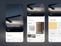 Explore Page of Shopping App