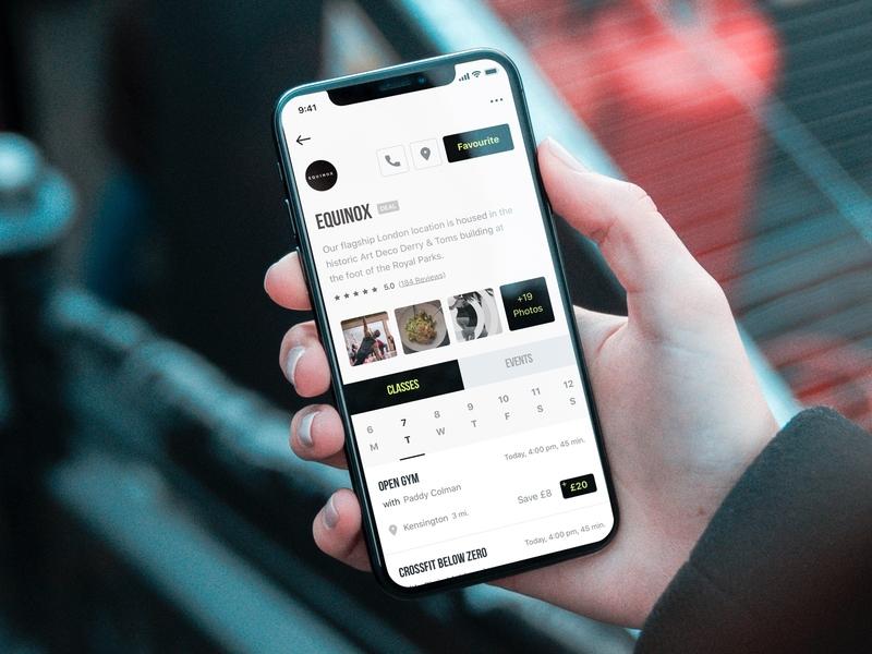 Studio Profile (iOS App) design ui interface user app application mobile