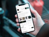 Studio Profile (iOS App)