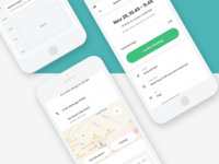 Appointment Detail design ui interface user app application mobile