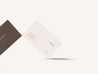 Business Cards for Nascence Organics