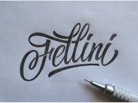 Sketch Fellini