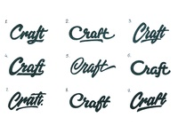 Craft ( Difficult choice )