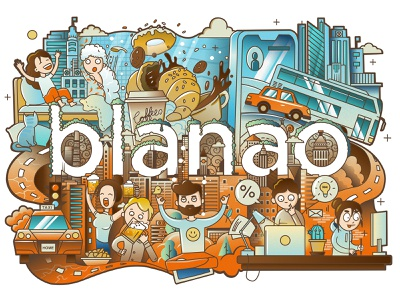 Vector doodle illustration Blanao affinitydesigner doodle art city illustration drawing cartoon character procreate art logodesign procreate illustration doodleart illustrations doodles doodle