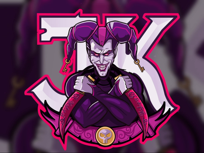 Logo for jkshop motion design animation twitch games logo logodesign vector design character procreate art branding procreate illustration illustrations logotype logo