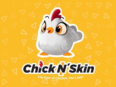 Chiken scin logo design affinitydesigner adobe illustrator mascotlogo mascot logotype logo illustrations illustration chicken chicken logo