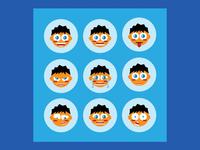 Expressive Emoji Set