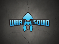 War Squid (Splatoon 2 Esports + Gaming Logo)
