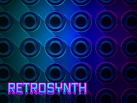 Retrosynth Spotify Playlist Cover Art