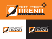 Battlespace Arena: Galactic Tour (Logo Design)
