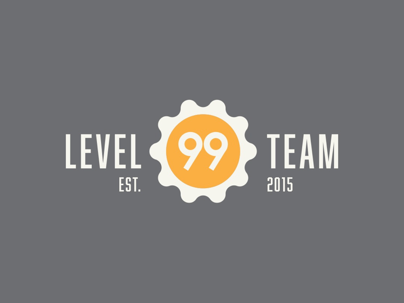 Level 99 Team - Morning Eggs Version 🍳 developer indie branding brand iconography icon brunch breakfast sunrise yolk eggshell logotype design graphic logo