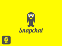 Snapchat Logo Redesigned (Version B)
