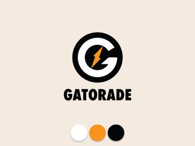 First Rebound - Gatorade Logo Redesign graphic design branding icon bottle athletics active retro logotype is it in you liquid softdrink drink sports drink rebrand