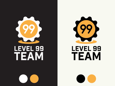 Vertical Logos for Level 99 Team