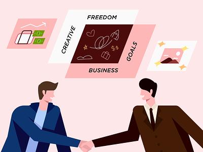Gaining creative freedom/trust from clients goals business teamwork medium article medium blogpost blog creative agency clients trusted creative design creative