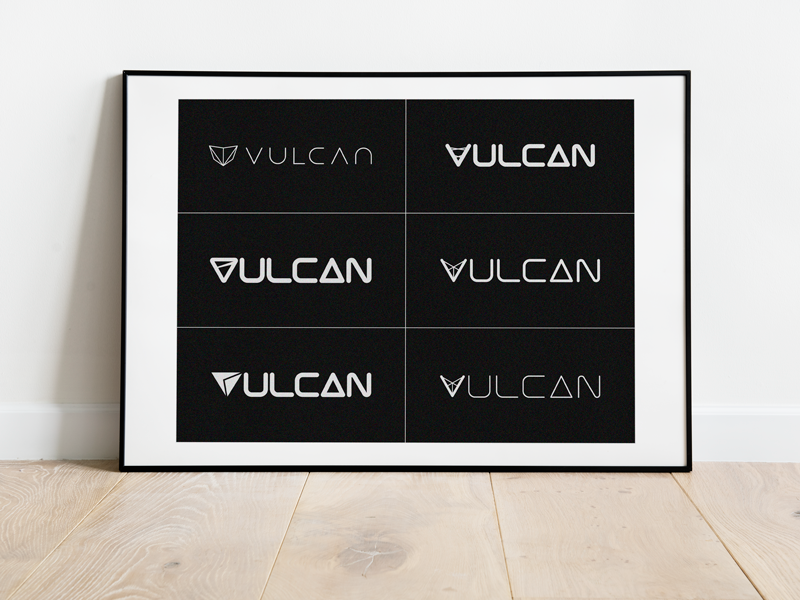 Vulcan Logo Concepts code webdesign web graphicdesign logomark brandidentity branding logo
