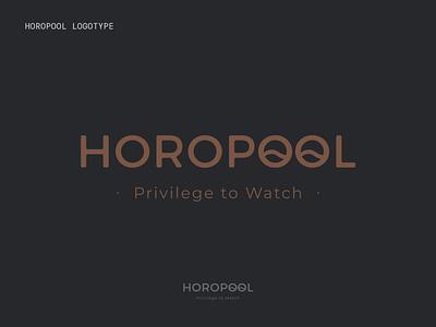 HOROPOOL LOGO logotype design logodesign logotype horopool horology app icon logo branding illustration typography design tolga tasci