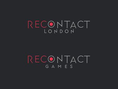 Recontact Logo ux ui app branding illustration typography design logo logotype recontact london logo recontact london recontact tolga tasci