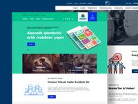 Akedas Website Redesign Concept