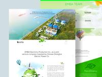 Emba Website Design