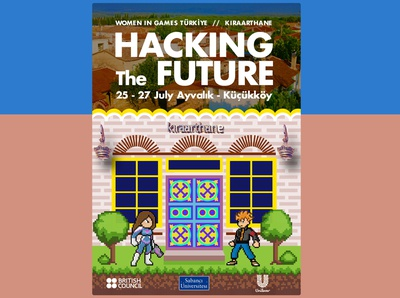 HACKING THE FUTURE POSTER