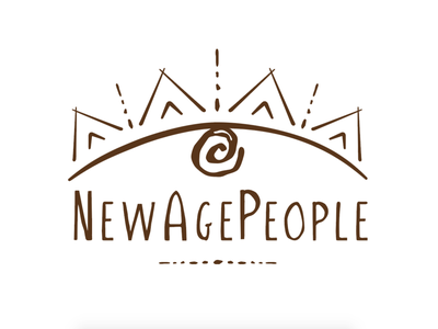 NewAgePeople ux ui website logo branding typography illustration design tolga tasci