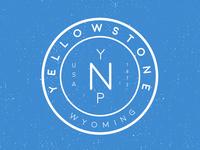 Yelllowstone National Park Badge
