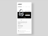 Bose Concept Page