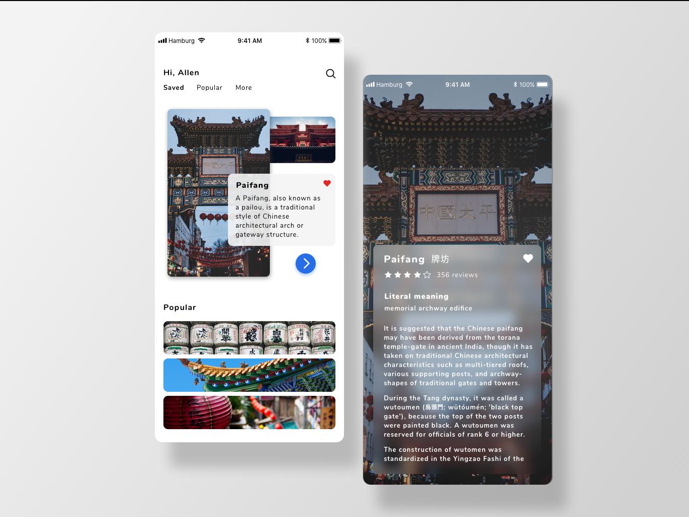Travel App Pages uxdesign uidesign design app interaction ux ui