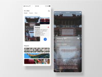 Travel App Pages