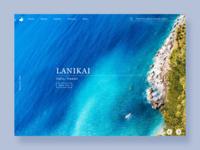 Lanikai Beach Info UI