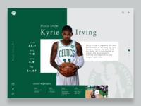 Kyrie Irving Tribute UI