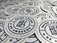 Pull & Pour Stickers