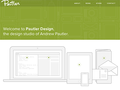 Pautler design website