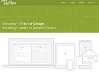 Pautler Design Website - Finally Launched!
